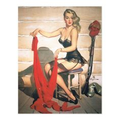 Let's Go Hunting - Vintage Pin Up Girl... love this!
