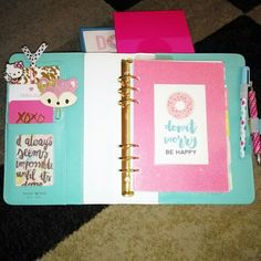 First dashboard in my color crush planner! #planners #websterscolorcrush #filofax #plannerinspiration