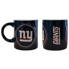 New York Giants NFL Coffee Mug - 14oz Sculpted Warm Up (Single Mug)