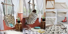 DIY Hammock-Type Baby Swing | IKEA Decoration