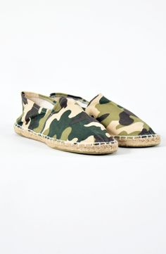 Military Εσπαντρίγιες Boutique Stores, Slippers, Flats, Shoes, Fashion, Loafers & Slip Ons, Moda, Zapatos, Shoes Outlet
