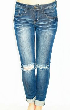 BLOG ABOUT IT DISTRESSED ANKLE SKINNY JEANS