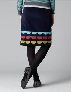 Another Boden skirt ... LOVE their skirts!