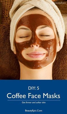 Beauty Benefits of Coffee Face Masks – DIY This will prove to be a perfect mask for all skin types.