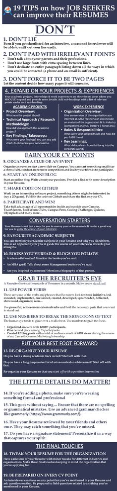 Step by step CV (Resume) writing More Tips on Writing a CV or - resume checker