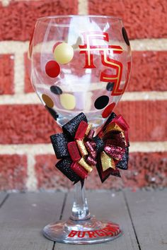well, yeah...Florida State University FSU Seminoles Wine Glass