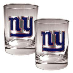 New York Giants 14oz. Rocks Glass Set - $29.99