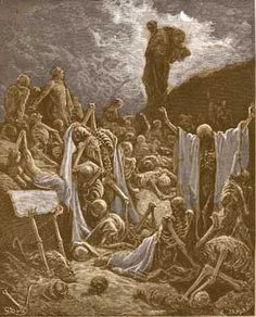 Ezekiel Chapter 37 Valley of Dry Bones, Sticks:Beauty and Bands ...