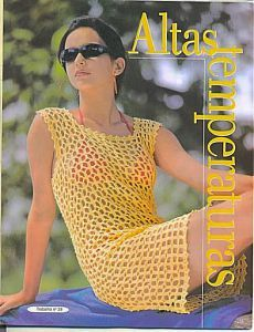 Irish lace, crochet, crochet patterns, clothing and decorations for the house, crocheted. Crochet Beach Dress, Bikinis Crochet, Crochet Summer Dresses, Knit Dress, Crochet Jumper Pattern, Crochet Tunic, Irish Crochet, Crochet Lace, Crochet Patterns