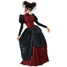 Adult Masquerade Vampire Dress Costume