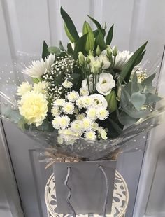 Flowers & Home is a independent florist in Castle Bromwich, near Birmingham specialising in exquisite floral arrangements to suit any occasion. Happy Images, Floral Arrangements, Bouquets, Wrapping, Glass Vase, Celebration, Castle, Smile, Shop