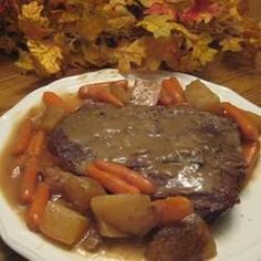 Roast Bear: This is an easy, tender, delicious bear roast that you can cook over night in a crock pot or in your Dutch Oven at the campsite.
