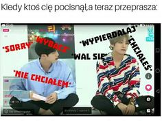 Read from the story BTS memy :) ❌ by Zosiunian (Aizos) with reads. Oto dla was memiki ; K Meme, Bts Memes, Polish Memes, Find Memes, Funny Mems, Bts Imagine, Reasons To Smile, I Love Bts, Les Aliens