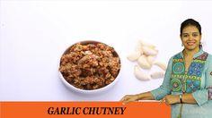 GARLIC CHUTNEY - Mrs Vahchef