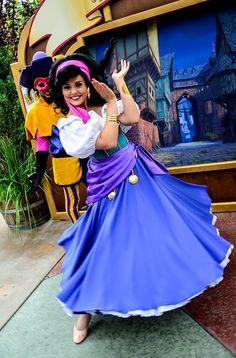 Esmeralda <3  Long Lost Friends Week (April 14), photo by #EverythingDisney