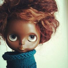 Brown Blythe Doll