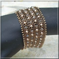 Gorgeous in RAW(?)...on second thought, maybe herringbone... Bracelets - Page 5 - Le Blog de Peetje