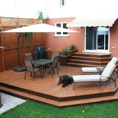 Steps From House To Deck