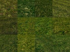 New ground textures with grass