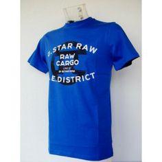Camiseta G-star Raw Azul
