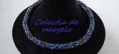 Blue Hematite - Crochet beading necklace by Colectia de margele Beading Jewelry, Jewelry Collection, Beads, Crochet, Blue, Fashion, Beading, Moda, Fashion Styles