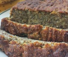 Almond Flour Banana Bread with Flaxseed and Coconut Almond Flour Banana Bread with Linseed and Coconut Recipe on Banana Bread Almond Flour, Best Banana Bread, Banana Coconut, Coconut Flour, Flax Seed Recipes, Almond Flour Recipes, Coconut Recipes, Banana Bread Recipes, Healthy Recipes