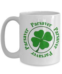 Parsaver Lucky Emblem Mug 15oz - Clubhouse