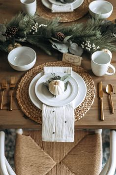 Looking for the perfect Thanksgiving tablescape? I've got a gorgeous tablescape for a great deal, a free name placement pdf! Thanksgiving Table Settings, Thanksgiving Tablescapes, Christmas Table Settings, Thanksgiving Decorations, Christmas Place Setting, Holiday Tablescape, Thanksgiving 2020, Blue Christmas Decor, Christmas Room