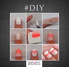 Get these cute nails with this easy peasy nail art tutorial!! #DIY #TryNow #CuteNails #Nails #Fashionistas #FashionGirls #LoveForFashion #Fashion #FameFashion #Love #StyleDiaries #Itsallinthedetails #Shopaholics #DressUp #RIDRESS