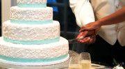 the cake #wedding Angie&Ike Photography