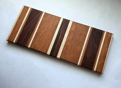 Walnut, Cherry, and Maple Cheese Plank
