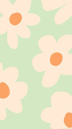 Cute Patterns Wallpaper, Pastel Wallpaper, Flower Wallpaper, Wallpaper Backgrounds, Tumblr Backgrounds, Bedroom Wall Collage, Photo Wall Collage, Picture Wall, Aesthetic Iphone Wallpaper
