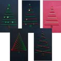 Hasenklasse: Geometrisches Sticken zu Weihnachten