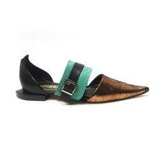 ETERNITY - Sapato em couro bico fino louloux #scarpin #sapatilha