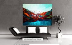 art painting // abstract painting // original painting by CrazyMo, €245.00