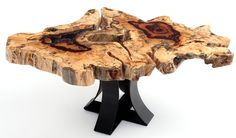 We handcraft live edge tables and contemporary rustic solid wood coffee tables from naturally distressed wood. Find your next live edge table today. Unique Coffee Table, Contemporary Coffee Table, Rustic Coffee Tables, Rustic Contemporary, Wood Tables, Natural Wood Furniture, Live Edge Furniture, Log Furniture, Live Edge Wood
