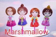 marshmallow halal: Marshmallow Karakter, Lucu , unik edisi kali ini ...