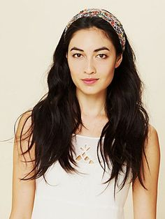 Printed Lace Wideband  http://www.freepeople.com/whats-new/printed-lace-wideband/