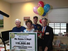Congrats to Donna S Boyd of Corpus Christi, TX! She received a pleasant surprise at the church where she works when Dave Sayer showed up with a check for $10,000! Leave a message of congratulations below! #PCH