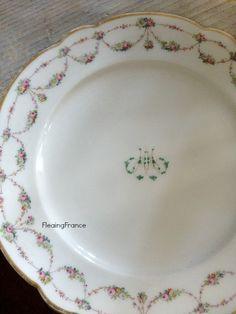 FleaingFrance.....Hand Painted Plate-1800s