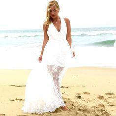 Pandora Lace Maxi Dress