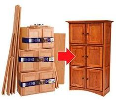 Building beautiful cabinets from unfinished stock cabinetry.