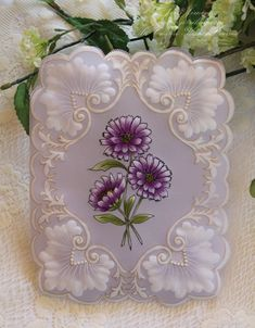 Pergamano A Touch of Grace » Parchment Mother's Day Card  @Laura Morgan  @Ann Bivens  visit me at My Personal blog: http://stampingwithbibiana.blogspot.com/