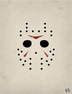 Friday the 13th - Jason | Minimalist Poster.