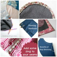 ** The Haby Goddess Blog: Sewing Tutorials **   -- There are Quite a Few Good TUT's that I AM INTERESTED IN! = Check-out Pg!!.. (IE - Several Sewing Feet are Discussed w/ their Function(s), How-to Attach & Use + PDF DL's, How-to Add Bias to Inside Edge of Garment, Making Perfect Pocket Corners, Tricks for Cutting Slippery Fabrics, How-to Add an Elastic Waist w/ a Flat Front & MANY MORE!!)   -- Link to Full List of Tutorials = http://thehabygoddess.blogspot.com/p/tutorials.html