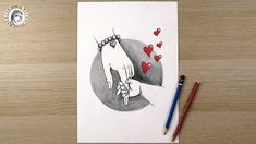 Mother S Day Drawing How To Draw Hands For Beginners رسم يد رسم سهل In 2021 Mothers Day Drawings Pencil Drawings How To Draw Hands