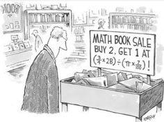 Math book sale, math prices