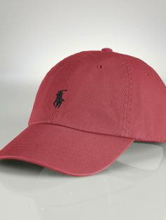 Chino Baseball Cap - Create Your Own Hats, Gloves & Scarves - RalphLauren.com