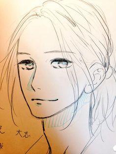 Yamamori Mika sketch / Mamura's older brother(?)