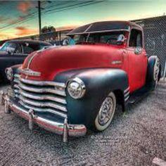 I actually fancy this color for this 1957 chevy trucks Hot Rod Trucks, New Trucks, Custom Trucks, Cool Trucks, Custom Cars, 1951 Chevy Truck, Chevy Pickup Trucks, Chevrolet Trucks, Lowrider Trucks